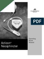 Procedimento Implante Acticon
