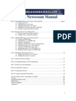 Newsroom Manual 2011