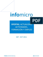 Boletín infomicro sep-oct 2011