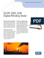 6768 D12R D6R D3R Digital Winding Tester