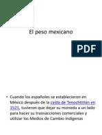 El Peso Mexicano Trabajo Final