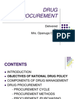 Drug Procurement 10-03-09
