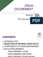 Drug Procurement 10-03-09