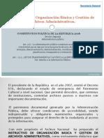 Instructivo de Organización Básica y Gestión de Archivos 1