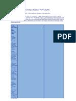 Especificaciones lifts de California y manual de usuario aquacreek