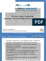 Client Side Threats Anatomy of Reverse Trojan Attacks