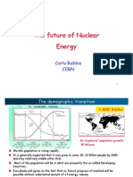 The Future of Nuclear Energy Carlo Rubbia