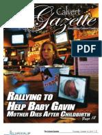 2011-10-13 Calvert Gazette