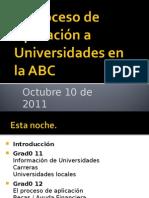 Uni App Session Spanish