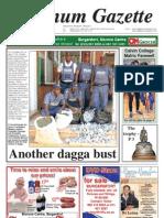 Platinum Gazette 14 October 2011