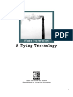 waste incineration - a dying technology