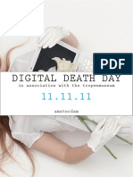 Digital Death Day Invite