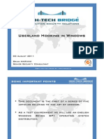 Userland Hooking in Windows