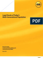 Legal Needs of Today's Multi-Generational Workforce