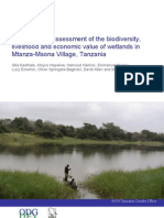 IUCN_An Integrated Assessment of the Biodiversity, Livelihood and Economic Value of Wetlands in Mtanza-Msona Village_Tanzania