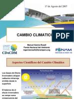 Cambio Climatico - 17 de Agosto 2007