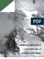 CAMBIO CLIMÁTICO Y TURISMO EN LA CORDILLERA REAL