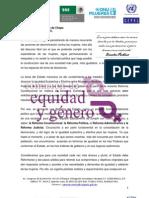 Foro Regional Paridad y la perspectiva de género en el Poder Judicial