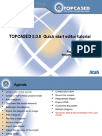 TPC 5.0.0 Quick Start Editor Tutorial