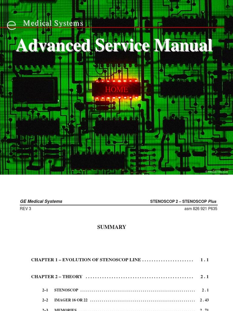 ge stenoscop 1 vacuum tube capacitor rh scribd com Manual Medical Transport Medical ManualsOnline