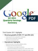 2011Q3 Google Earnings Slides Copy