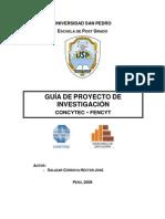 Guia de Proyecto de Investigacion