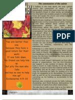 HPC Fall Newsletter 2011