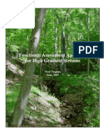 WV Functional Assessment for Streams