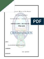 INF.4 CRISTALIZACION