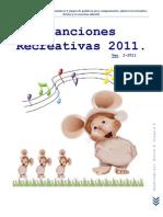 Canciones Recreativas 2011.