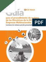 Guia Para El Procedimiento de Reclamo de Las Directrices de La OCDE Para Empresas Multinacionales