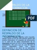 Respaldo de la Informacion