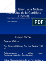 EL Grupo Girón, una Molasa Mesozoica de22
