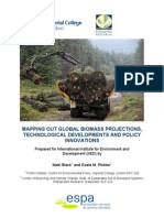 Mapping Out Global Biomass Projections