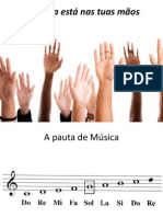 A Musica está nas tuas mãos