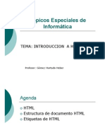 Clase 1 - Topicos