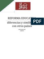 Reforma Educativa Trabajo Final.