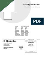 Frigid a Ire Parts Manual