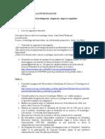 MetInv- Unidad 1- Proc. Inv.- Talleres