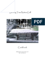 Burning Tree Native Grill Cookbook