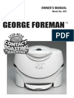 George Foreman Roaster Oven (GV5)