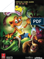 Crash Mind Over Mutant - Prima Official Game Guide XBOX360 PS2 PSP Raules
