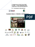 Plan de trabajo Alianza para el Turismo Comunitario AF 07 dic