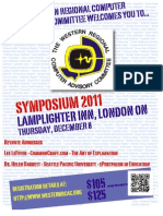 Symposium 2011 Flyer