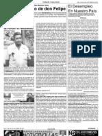 Columnas Senderos de Apure.com y Noticriollas del Semanario Notismena N. 21