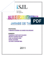 Trabajo Final - Jarabe de Tara 27-06-11