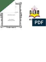 Contoh Muka Depan Buku Program