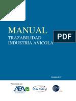 Manual de Trazavilidad Avicola