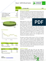 Development Credit Bank Ltd Q2FY12 Result Update