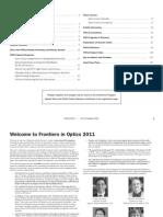 FiO Final Program 2011